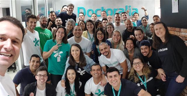 Novo escritório da Doctoralia Brasil, aberto em 2017.