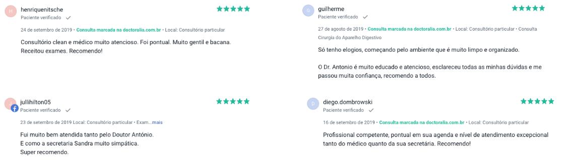 Dr Antonio Hirt Gastroenterologista Curitiba opinioes