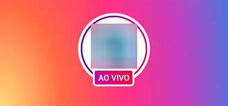 Instagram transmissão ao vivo