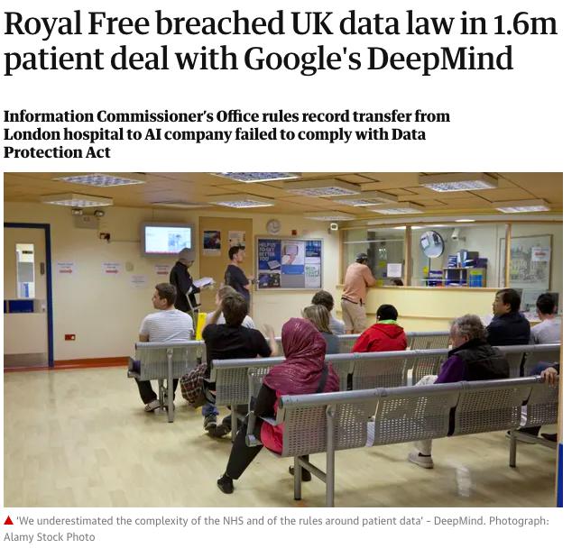 Royal Free - The Guardian