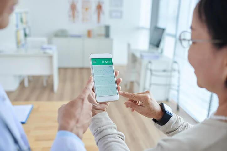 aplicativos de saúde para especialistas e seus pacientes